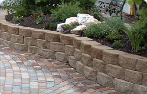 brick and stone paver diveway in fayetteville ar
