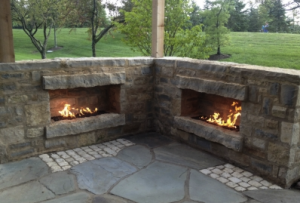 outdoor stone fireplaces in fayetteville ar