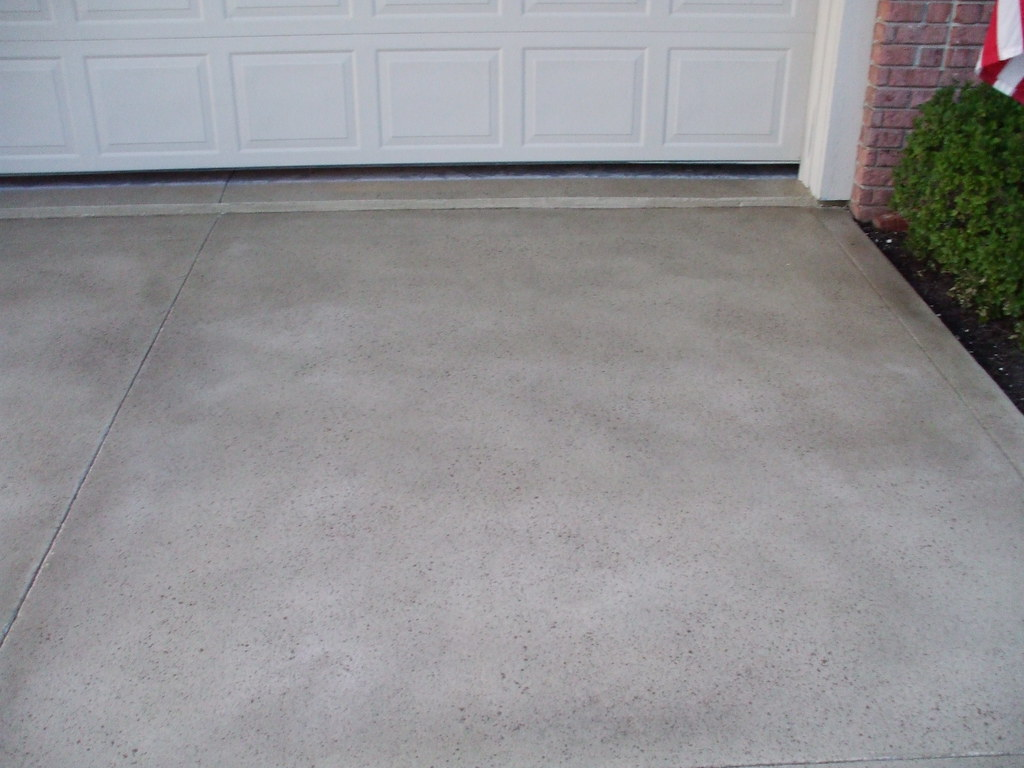 Concrete driveway Fayetteville