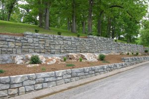 Fayetteville AR Retaining Wall